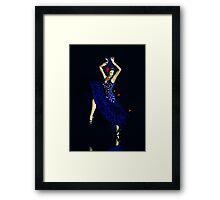 Gypsy Blues Framed Print