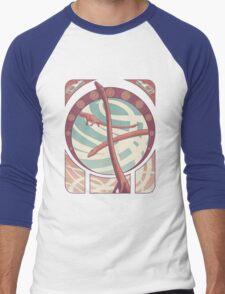 Tanystropheus Nouveau Men's Baseball ¾ T-Shirt