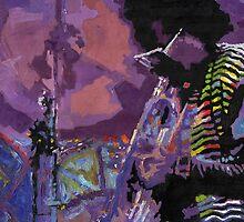 Jazz Miles Davis Violet by Yuriy Shevchuk