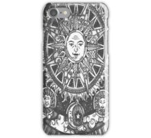 Simple Henna Sun Design  iPhone Case/Skin