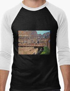 Roman Colosseum  Men's Baseball ¾ T-Shirt