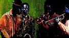 Jazz Saxophon Players by Yuriy Shevchuk
