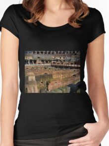 Roman Colosseum II Women's Fitted Scoop T-Shirt