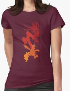 Torchic Evolutionary Chain  Womens Fitted T-Shirt