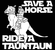 Save a horse, ride a tauntaun by Liam Hosking