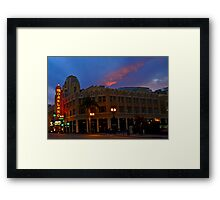Magnificent Fox Theatre Framed Print