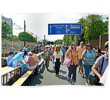 """Still-leben"" on the A40 Autobahn, Essen, Germany. Poster"