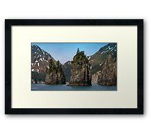 Spire Cove Framed Print