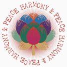 Harmony Peace Lotus Flower by Zehda