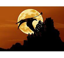 Rhamphorhynchus Moon Photographic Print