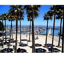 South Beach Harbor Marina, San Francisco Photographic Print