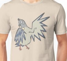 Gentleman Pigeon Unisex T-Shirt
