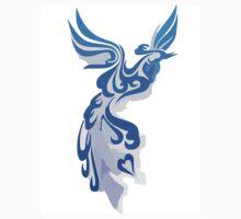 Blue Phoenix One Piece - Short Sleeve