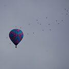 birdds and balloons by Amanda Huggins