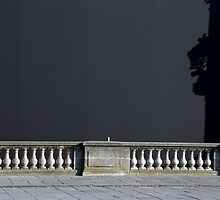 Paris - Woman and shadow. by Jean-Luc Rollier
