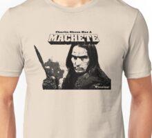 Charlie Sheen Has a Machete Unisex T-Shirt