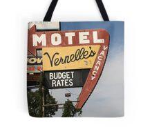 Route 66 - Vernelle's Motel Tote Bag