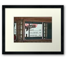 Route 66 Drive-In Theatre Framed Print