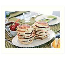 Mmmmm Pancakes  Art Print
