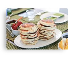 Mmmmm Pancakes  Canvas Print