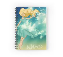 Lady of Wind Spiral Notebook
