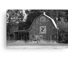 Route 66 - Mule Trading Post Canvas Print