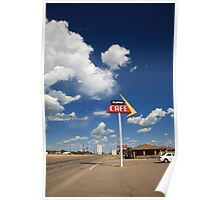 Route 66 - Adrian Texas Poster