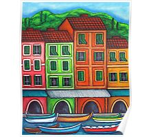 Colours of Liguria Poster
