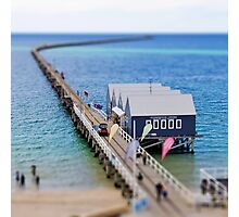 Tilt-shift: Busselton Jetty Photographic Print