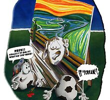 ABOUT FOOTBALL and Painting... by Pietrofascio