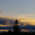 Cloud Sunset Blaze by Tracie Skarbo