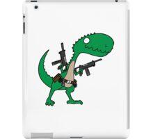 Dino with Guns iPad Case/Skin
