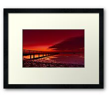 """Twilight Blush"" Framed Print"