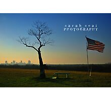 American Flag - Fort Worth, Texas Photographic Print