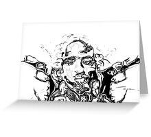 Liquid Tupac Greeting Card