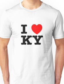 I Love KY (black) Unisex T-Shirt