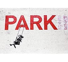 "Banksy ""Park"" Photographic Print"