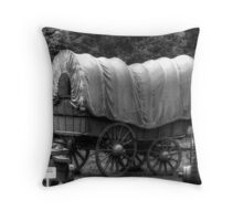 Westward Ho Throw Pillow