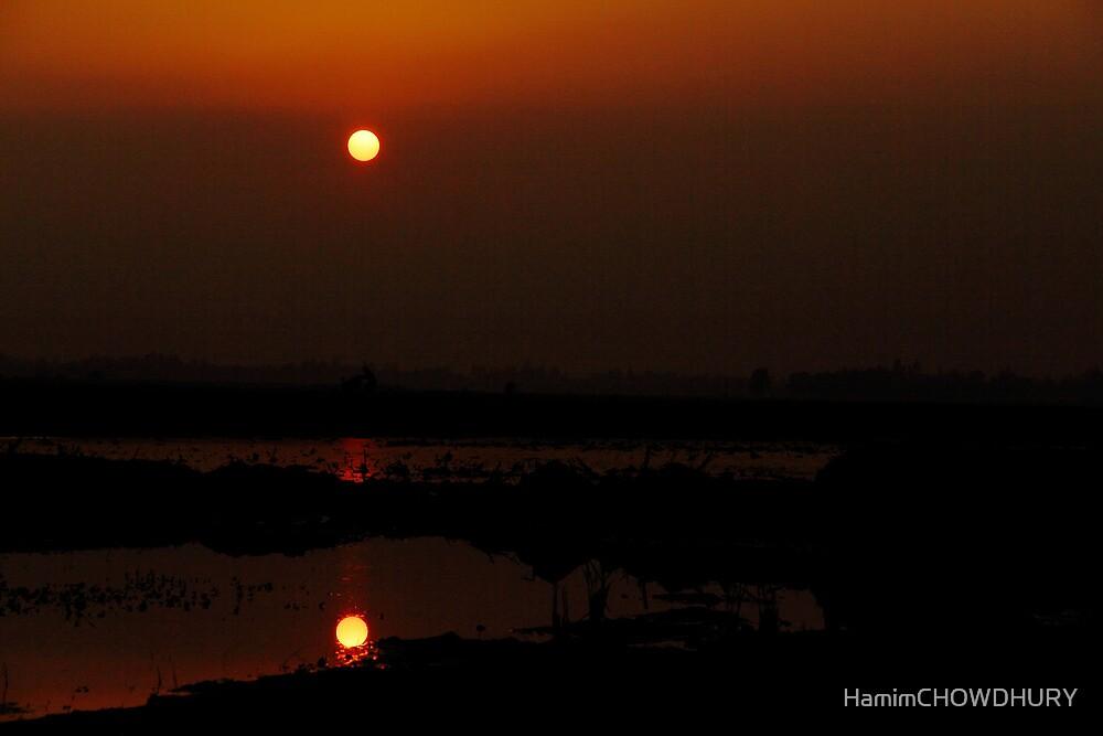 SUNSET_ Digombar Bazar -1 by HamimCHOWDHURY