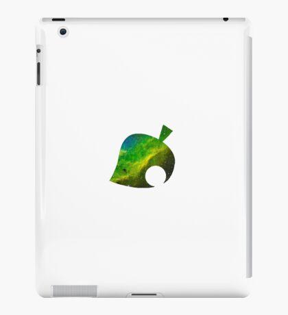 Galaxy Animal Crossing Leaf iPad Case/Skin