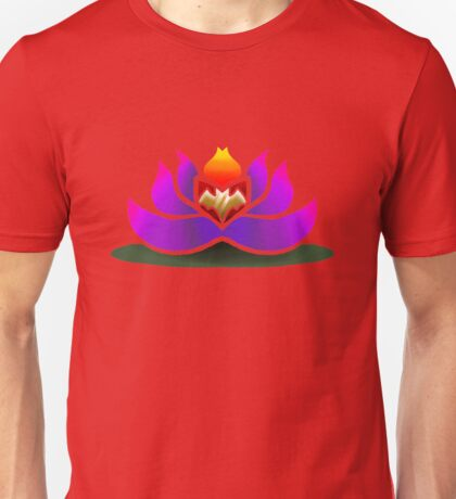 Gray's water lily (no lineart) Unisex T-Shirt