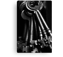 Skeleton Keys Canvas Print