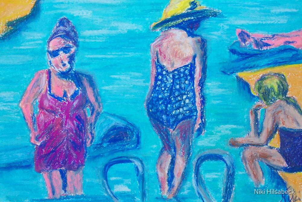 Bathers  by Niki Hilsabeck