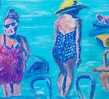 Bathers  by Niki Hilsabeck