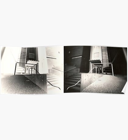 Pinhole Diptych Poster