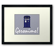 """Geronimo!"" Framed Print"