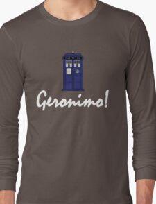 """Geronimo!"" Long Sleeve T-Shirt"