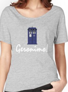 """Geronimo!"" Women's Relaxed Fit T-Shirt"