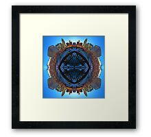 Omaha 360 - Around Town Framed Print