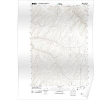 USGS Topo Map Oregon Ring 20110811 TM Poster